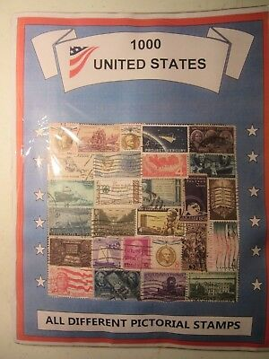 Us Antique Stamp Lot All Different Used Well Mixed 1000 Different Free Shipping