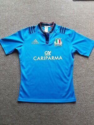Adidas Italy Rugby Jersey - Large