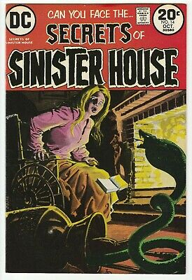 Secrets Of Sinister House #14 Oct 1973 Vf- 7.5 Dc Comics