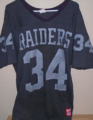 on sale 00da4 51838 VINTAGE LOS ANGELES Raiders Bo Jackson Jersey Youth XL ...