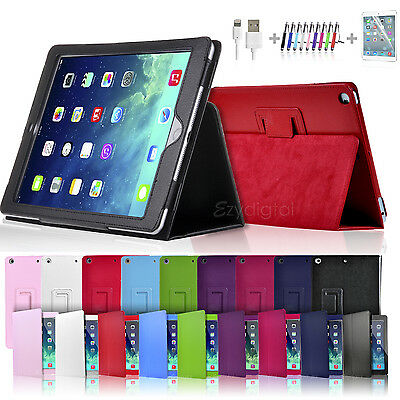 "New Premium Smart Wake up Flip Leather Case Cover for Apple iPad Air 10.5"" 2019"