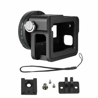 Gurmoir Aluminum Alloy Housing Frame Case with Back Door For Gopro Hero 6/Gopro