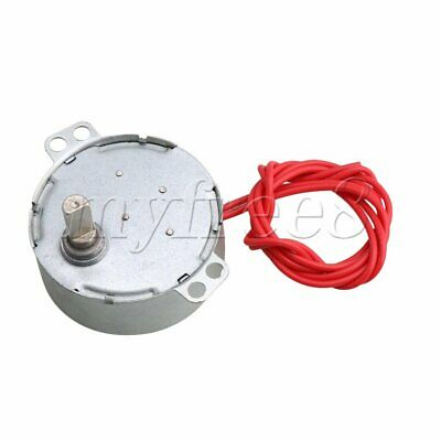 AC 12V 5-6 RPM Replacement Synchron Motor for Fan DIY Work Torque 4KGF.CM