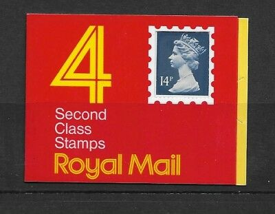 Great Britain Stamps Barcode £0.56 Booklet GB1 Mint Condition.