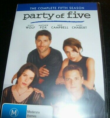 Party of Five: The Complete Fifth Season 5 (Australia Region 4) DVD – New