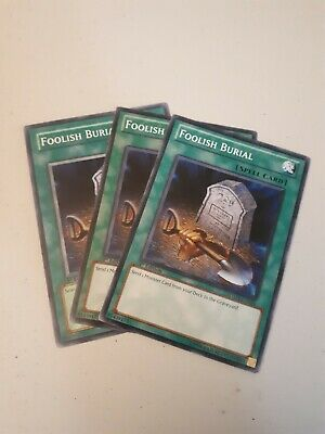 Foolish burial, Common,Random sets, NM (Playset)