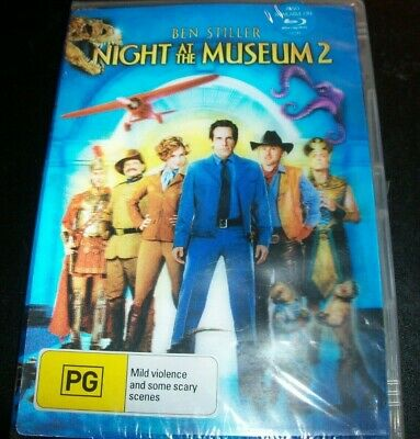 Night At The Museum 2 (Lenticular Cover) (Australia Region 4) DVD - NEW