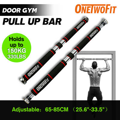 Adjustable Chin Pull Up Bar Gym Home Exercise Fitness Workout HK664