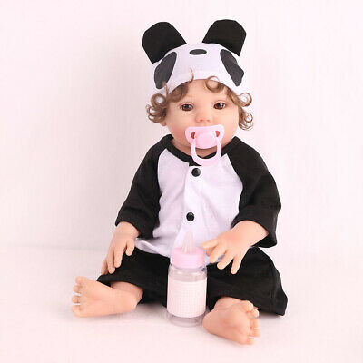"16"" Handmade Reborn Baby Doll Full Body Silicone Anatomically Xmas Gifts Dolls"