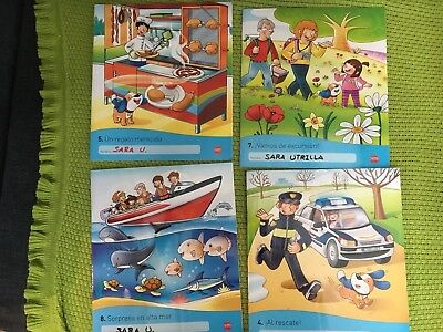 Children Books In Spanish to learn to read. 4 Books. Good Condition.
