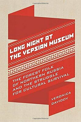 Long Night at the Vepsian Museum by Veronica Davidov New Paperback Book