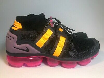 New! Nike Air Vapormax FK Utility Black Gridiron Running Shoes 10