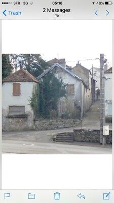 Village Townhouse/property For Renovation in Eastern france for sale