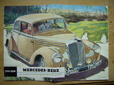 Mercedes-Benz   220  Originalprospekt