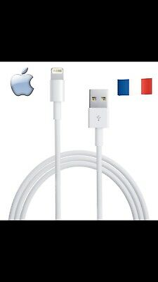 Cable Original Neuf 100% Apple Chargeur Usb iPhone 5 /6 / 7/8 / X / 10/Xmax /X