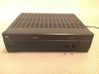 NAD 2600A Monitor Series Stereo Power Envelope Amplifier 150 Watt/Channel Japan