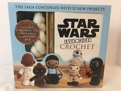 Star Wars Even More Crochet by Lucy Collin 2017 Crafts Crochet Kit Book Gift DIY