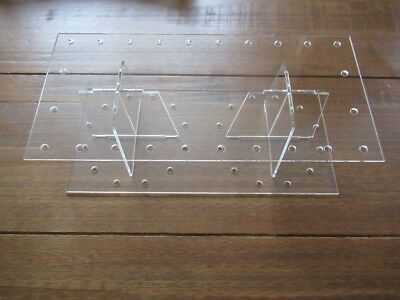 Cake pop acrylic RECTANGLE stand display