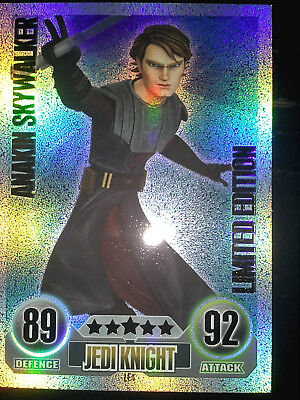 Topps Force Attax Trading Card Game Star Wars - Anakin Skywalker Limited Edition