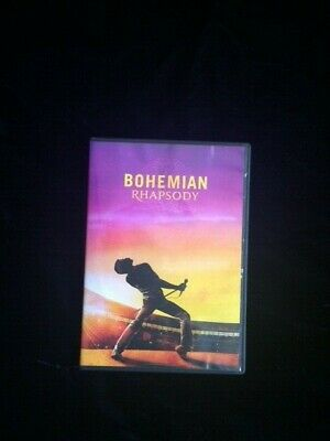 Bohemian Rhapsody DVD Freddy Mercury/Queen