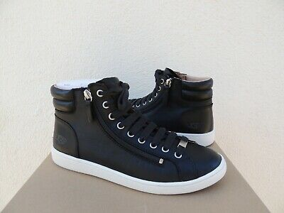 ec8a48ff879 UGG STARLYN BLACK Sheepskin Sneaker High Top Ankle Boots, Us 6.5 ...