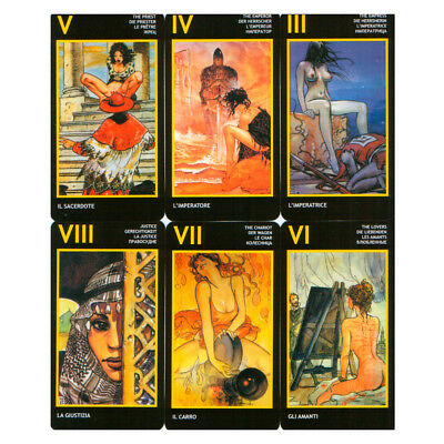 Manara Tarot Standart Edition Fortune Telling 78 Cards Deck GIFT