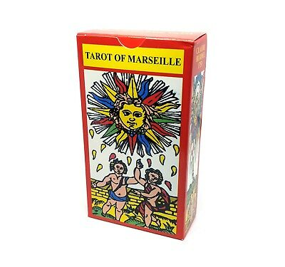 Tarot of Marseille English and Russian Cards Deck