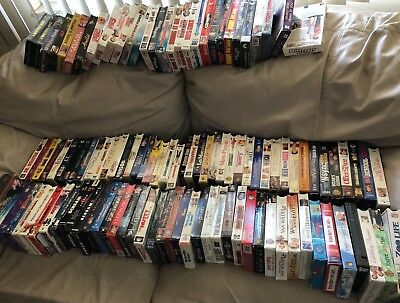 Vhs Tapes All Types .50Ea  If You Buy All(110) / If You Choose 1 Or More .75 Ea.