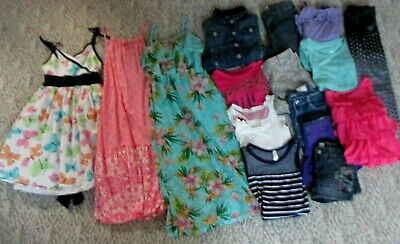 164197bb9546 GIRLS 10/12 SUMMER/SPRING Clothing Lot Justice, So , And More ...