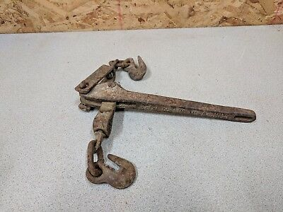 Vintage Durbin M1-8 Chain Load Binder,for Small Size Log Chain