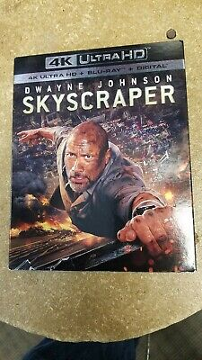 Skyscraper (4K Ultra HD, Blu Ray, Digital HD, 2018) BRAND NEW