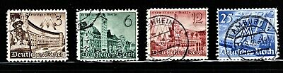 Hick Girl Stamp-Old Used German  Stamps  Sc#494-97   1941   Leipzig Fair   M973