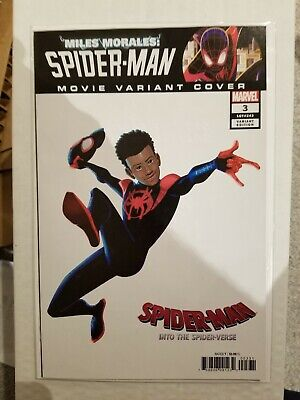 Miles Morales: Spider-Man #3 (2019) 1:10 Into the Spider-Verse movie variant NM+