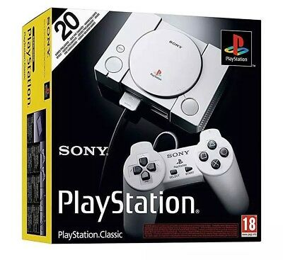 Sony Playstation Original Classic Console With 20 Retro Video Games Portable NEW