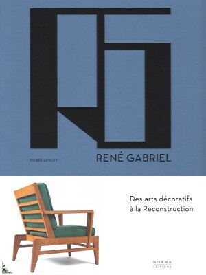 René Gabriel, from Decorative Arts to Reconstruction, French book