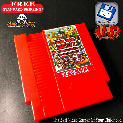 143 in 1 Multi Cartridge Classic Game Nintendo NES Zelda Mario Battery Save 2019