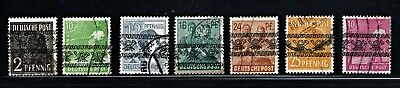 Hick Girl Stamp-  Old Used German  Stamps  Overprint In Black   Type A     M980