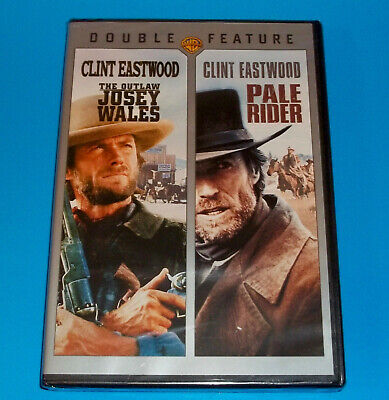 Clint Eastwood Double Feature - The Outlaw Josey Wales & Pale Rider *BRAND NEW