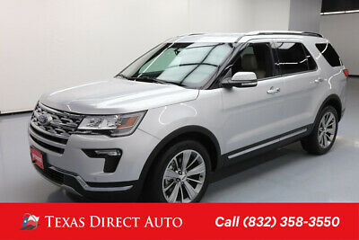 2018 Ford Explorer Limited Texas Direct Auto 2018 Limited Used 3.5L V6 24V Automatic FWD SUV Premium