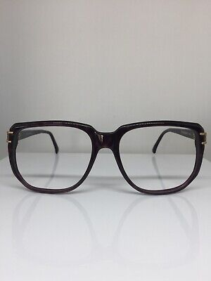 NEW VINTAGE Yves Saint Laurent Paris YSL 417 Eyeglasses C. 38 Havana Tortoise