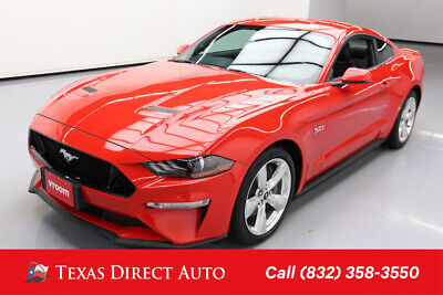 2018 Ford Mustang GT Premium 2dr Fastback Texas Direct Auto 2018 GT Premium 2dr Fastback Used 5L V8 32V Manual RWD Coupe