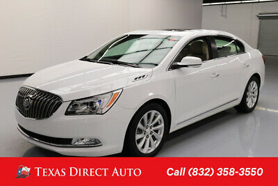 2015 Buick Lacrosse Leather Texas Direct Auto 2015 Leather Used 2.4L I4 16V Automatic FWD Sedan Bose OnStar