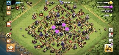 COC CLASH OF CLANS RH10 MAX 21600Juwelen