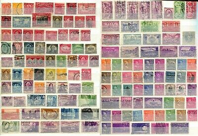 Usa United States Of America 1925 – 1939  ***** 137 Stamps