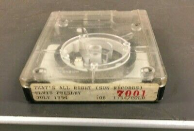 Radio Station Cart - Fidelipac - Nab Cartridge - Elvis - Collectible !!