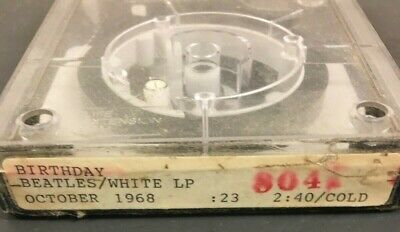 Radio Station Cart - Fidelipac - Nab Cartridge - Beatles - Collectible !!