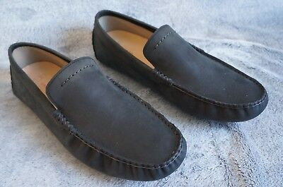 61bb301d55a UGG HENRICK LEATHER LOAFER / DRIVING MOCS, US 10 Mens,Color: BLACK, 1017317  NEW