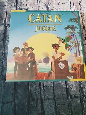 Catan Junior Jr Strategy Family Board Game by Catan Studio (BRAND NEW, SEALED)