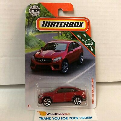 RED Mercedes-Benz GLE Coupe #10 New! 2019 Matchbox Case N