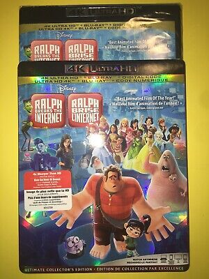 Ralph Breaks the Internet 4K ( 4K UHD/Blu-ray/Digital ) with Slipcover 2019